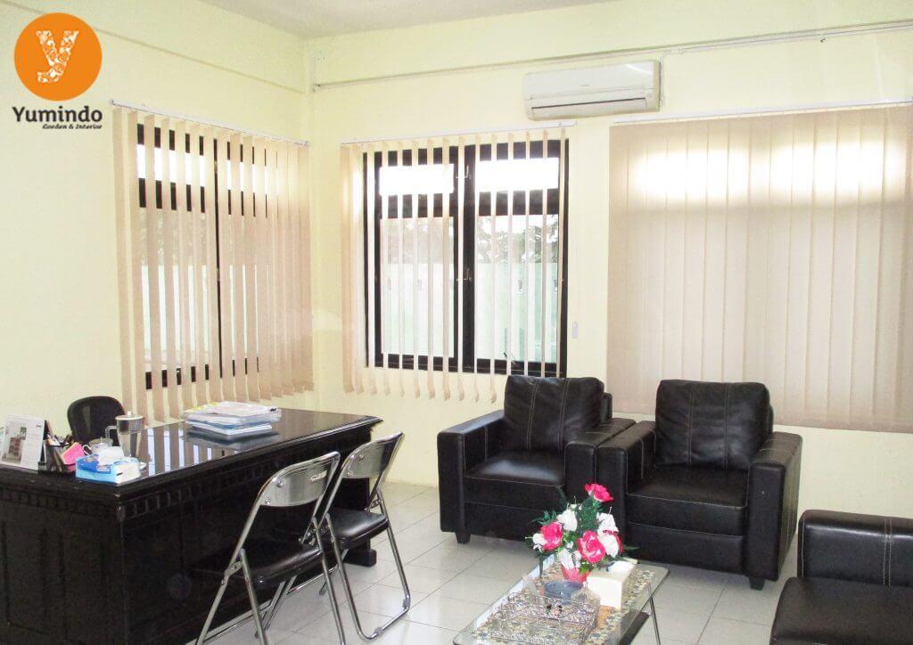 Jasa Pemasangan Gorden Jendela Minimalis Aluminium Paling murah Wil Kab. Sanggau